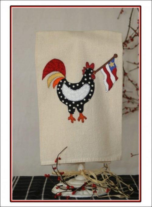 americana chick towel kit
