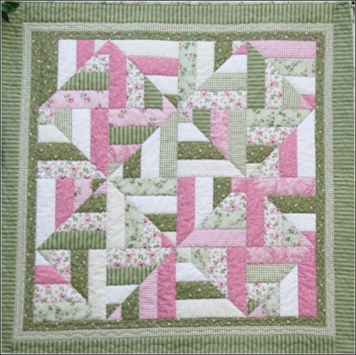 diamonds in the ruff scrappy quilt