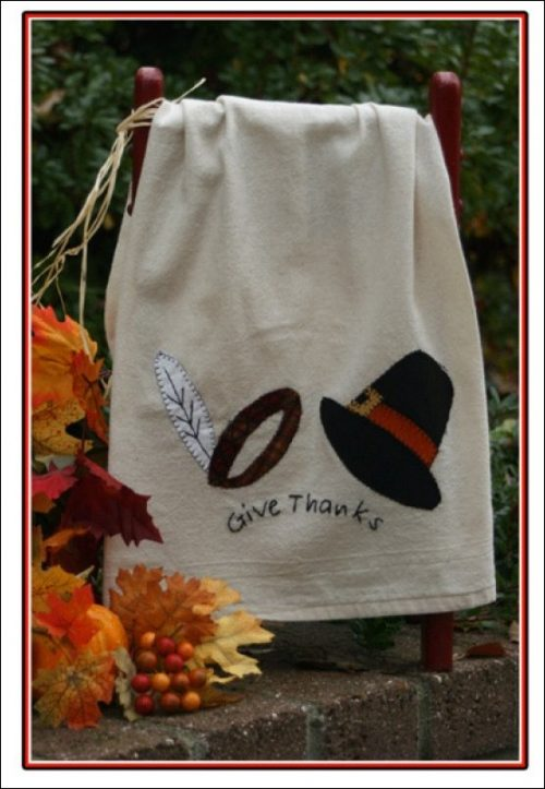 give thanks towel kit