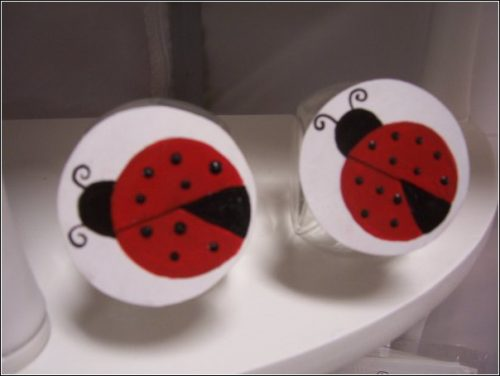 lady bug jars