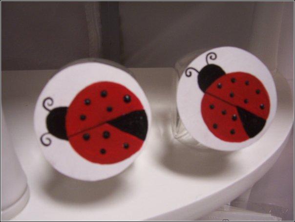 lady bug jars