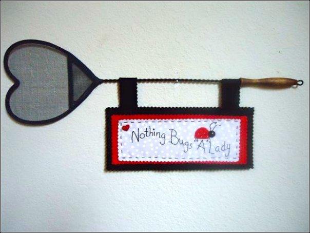 lady bug sign
