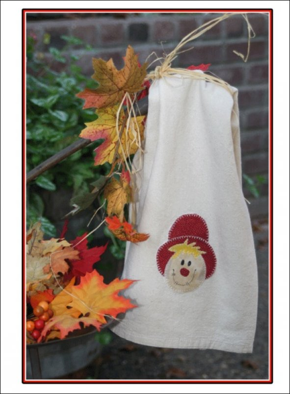mr scarecrow towel kit