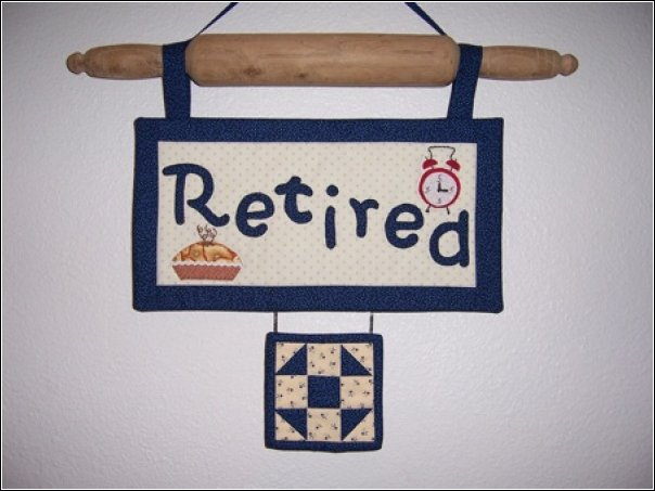 retired wallhanging