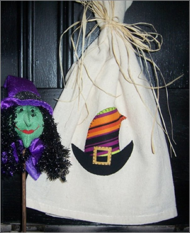 witches hat towel kit